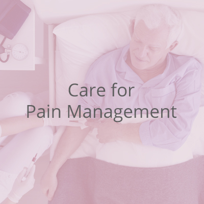 We offer qualified nurses who are able to come to your home and administer the pain remedy for you right there and then.